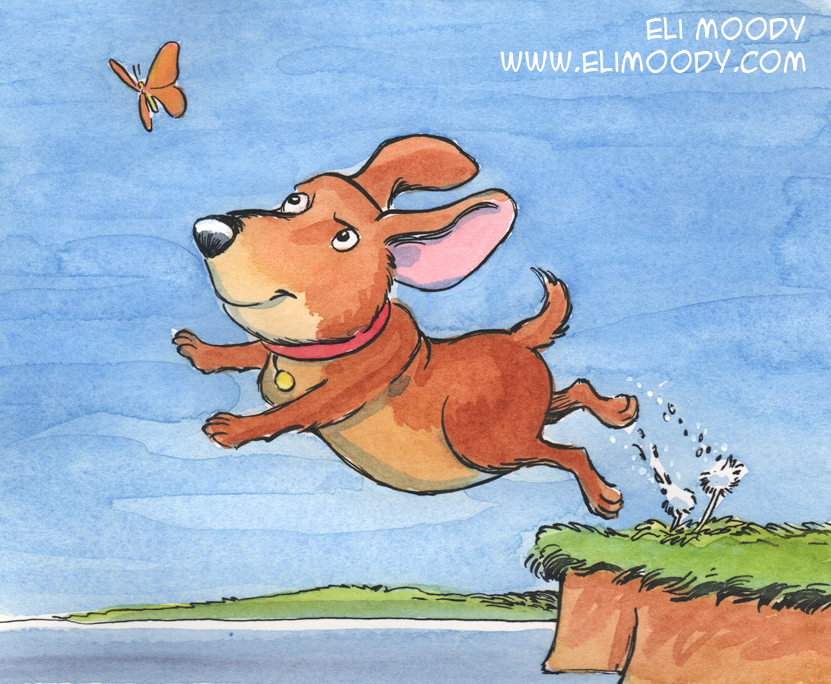 butterfly dog fb