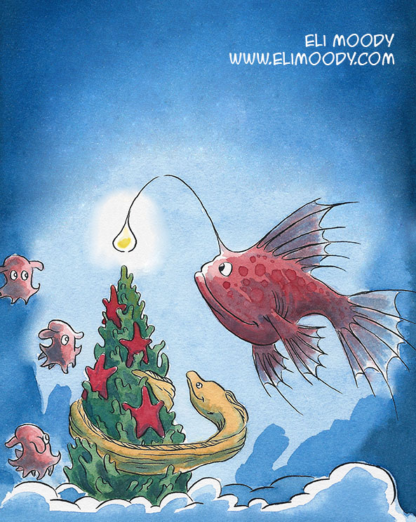 christmas fish fb