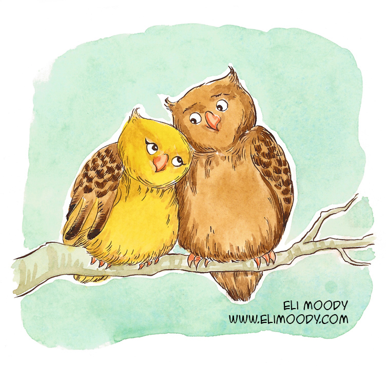 hugging owls fb