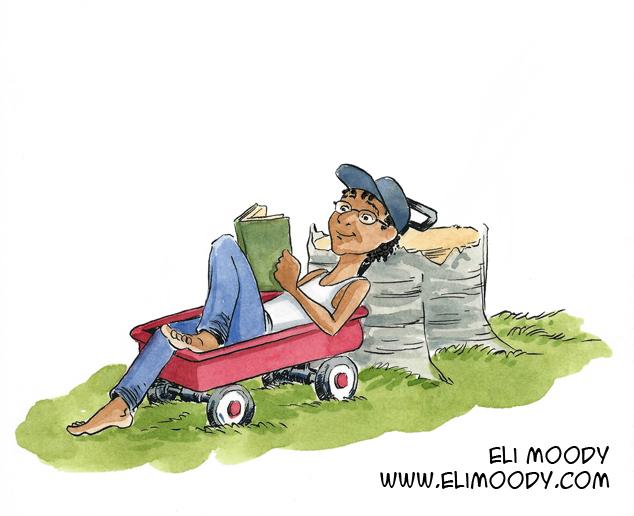 reading wagon