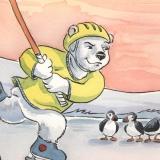 hockey bear