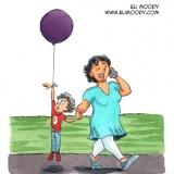 The balloon kid