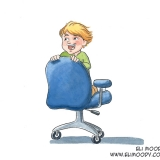 chair kid