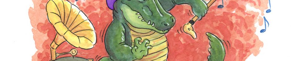 Dancing Gator